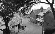 Felixstowe, Bent Hill c1955