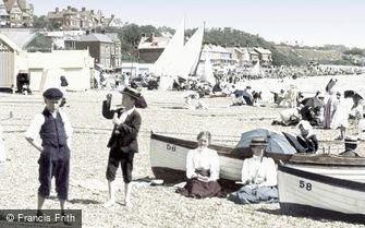 Felixstowe, from the Beach 1899