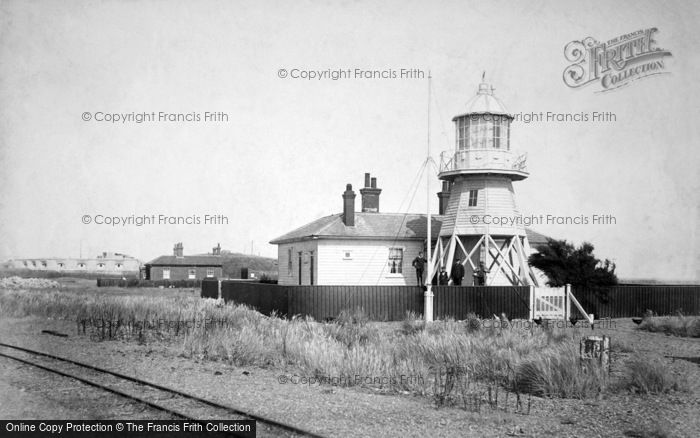 Photo of Felixstowe, Landguard Lighthouse 1906