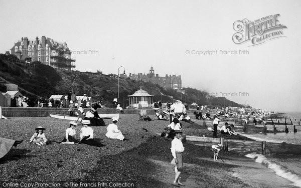 Felixstowe, the Beach 1907