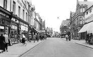 Felixstowe, the Parade 1955