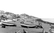 Felixstowe, the Sands c1955