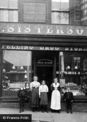 Felling, Sisterson's Drug Store c.1900