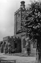 Felsted, Holy Cross Church c.1950