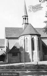 Felsted, School Chapel c.1955