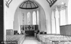 Felsted, School Chapel Interior c.1955
