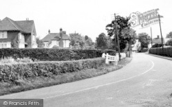 Felsted, Station Road c.1960