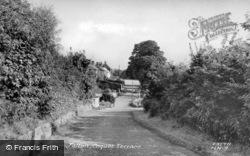 Coquet Terrace c.1955, Felton