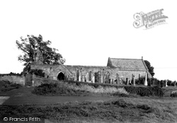 Felton, St Michael's Church c.1955