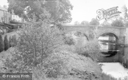 Felton, The Old Bridge c.1955