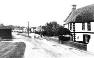 Fenstanton, Chequer Street c1955