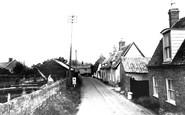 Fenstanton, Church Lane c1955