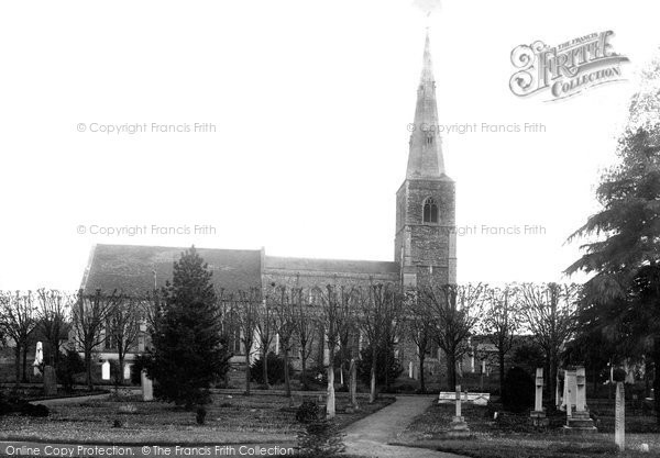 Fenstanton, Church of St Peter and St Paul 1898