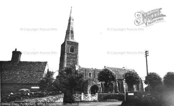 Fenstanton, Parish Church c1955