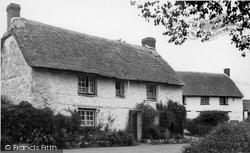 Feock, Cottage In The Village c.1955
