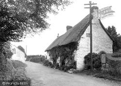 Feock, Post Office 1936