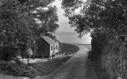 Feock, Road To Loe Beach 1936