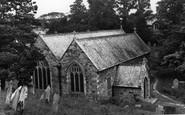 Feock, St Feock's Church c.1955