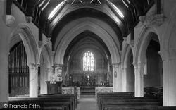 Feock, The Church Interior 1936