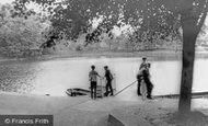 Ferndale, Darran Park Lake c1955