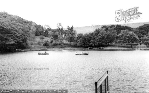 Photo of Ferndale, Darran Park Lake c.1955