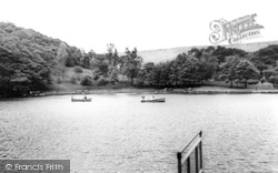 Darran Park Lake c.1955, Ferndale