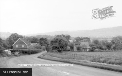 Fernhurst, Blackdown From Cooksbridge c.1965
