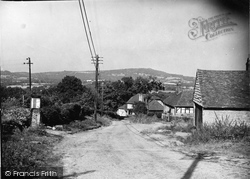 Fernhurst, Blackdown From Old Henley c.1950
