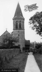 Fernhurst, Parish Church Of St Margaret c.1960