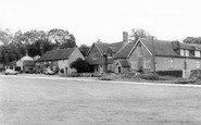 Fernhurst, Red Lion and Old School c1960