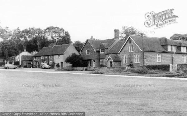 Fernhurst, Red Lion and Old School c1960
