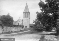 Fernhurst, St Margaret's Church 1902