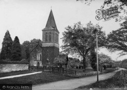 Fernhurst, St Margaret's Church 1919