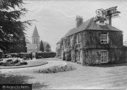 Fernhurst, Vicarage And Church Of St Margaret Of Antioch 1913