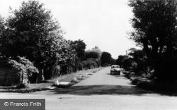 Ferring, Beehive Lane c.1960