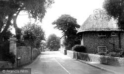 Ferring, Church Lane c.1960