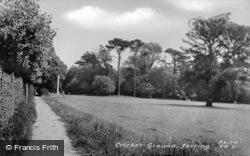 Ferring, Cricket Ground c.1960