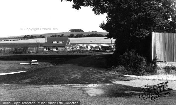 Photo of Ferring, Highdown Hill c.1965