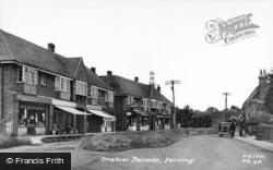 Ferring, Onslow Parade c.1950
