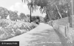 Ferring, Sea Lane c.1955