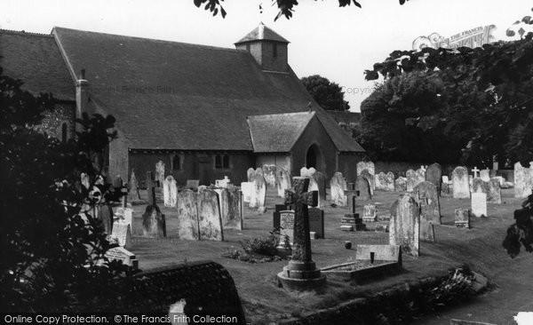 Photo of Ferring, St Andrew's Church c.1960