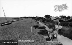 Ferring, The Beach c.1960