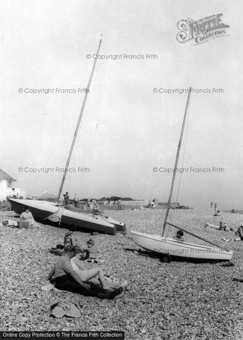Photo of Ferring, The Beach c.1965