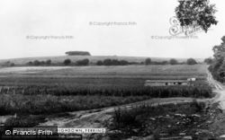 Ferring, The Path To Highdown c.1960