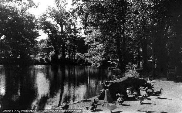 Photo of Ferring, The Pond c.1960
