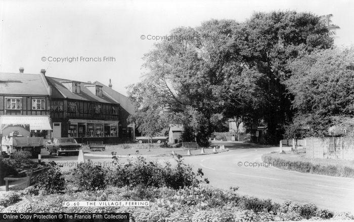 Photo of Ferring, The Village c.1965
