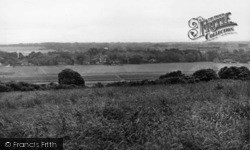 Ferring, View From Highdown Hill c.1955