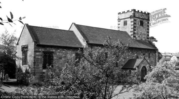 Photo of Ferrybridge, St Andrew's Church c.1955
