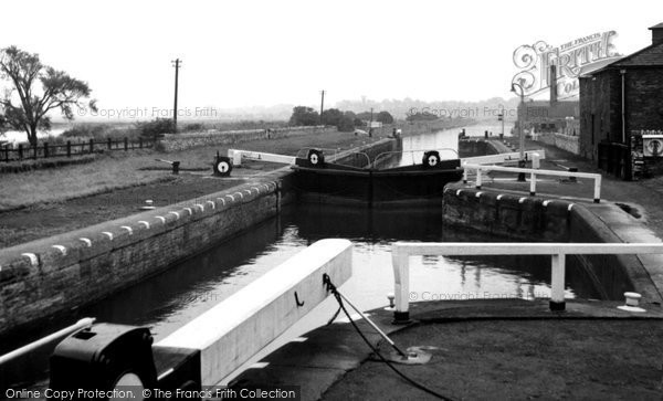 Photo of Ferrybridge, The Canal c.1955