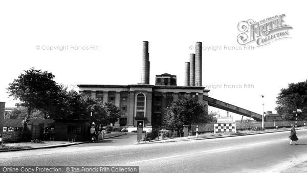 Photo of Ferrybridge, The Power Station c.1955